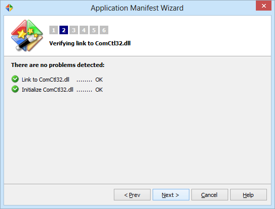 verify a link to ComCtrl and necessary initialization calls exist